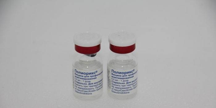 Вакцина Полиорикс