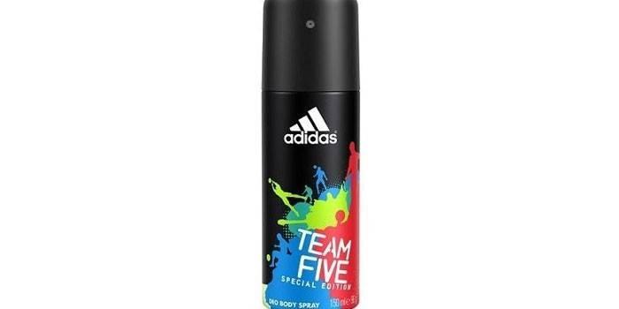 Парфюмированный спрей  Adidas Team Five