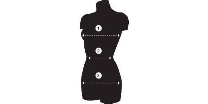 Мерки для размера одежды