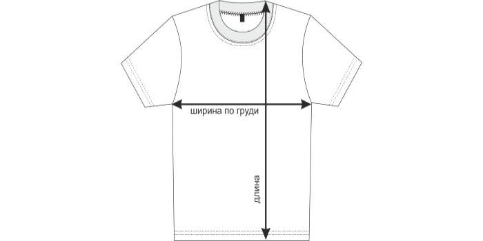 Мерки для футболки