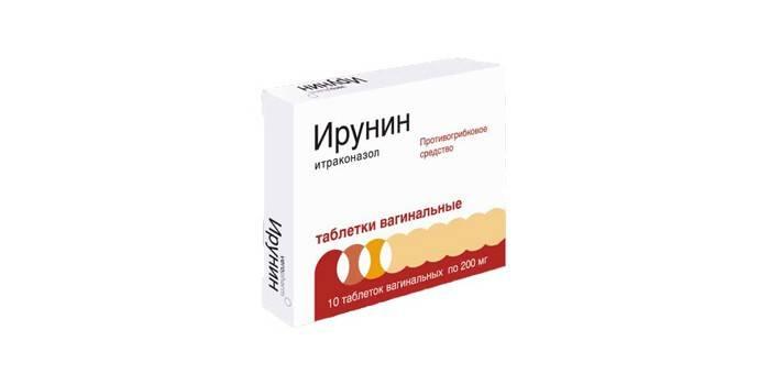 Таблетки вагинальные Ирунин