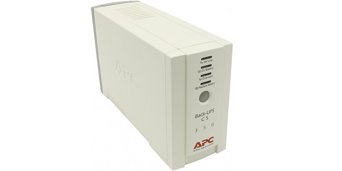 APC by Schneider Electric Back-UPS CS 350