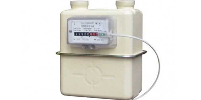 Газовый счетчик механический NPM G4 Омега
