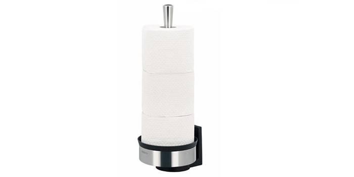 Настенный держатель для туалетной бумаги Brabantia