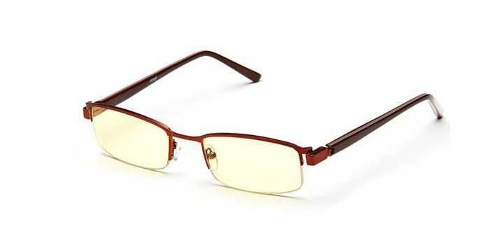 Защитные очки без диоптрий SPG Luxury AF036 Brown