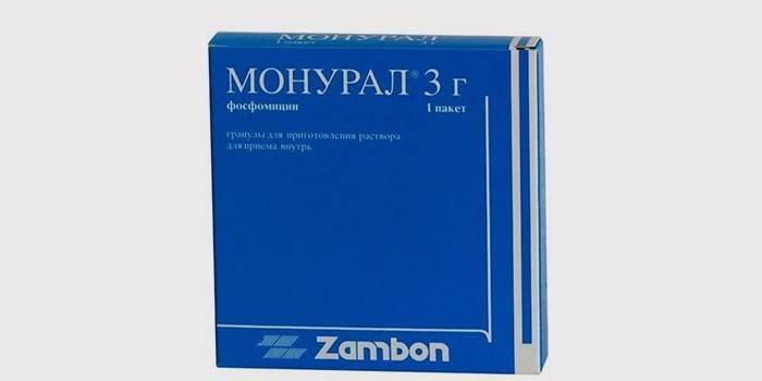 Упаковка препарата Монурал