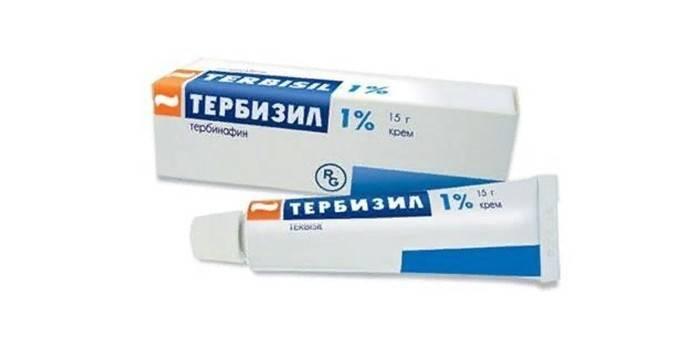 Крем Тербизил в упаковке