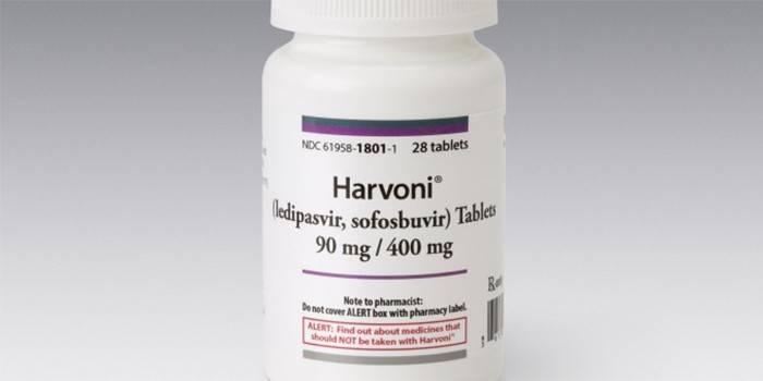 Упаковка препарата Гарвони