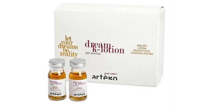 Масло для волос с кератином Dream lotion ARTEGO