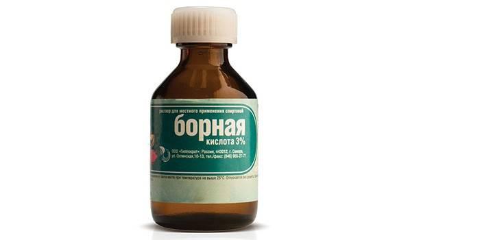 Борная кислота в бутылочке