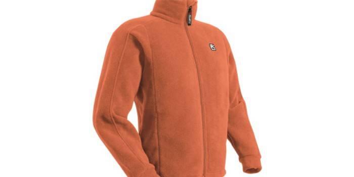 Спортивная куртка из флиса