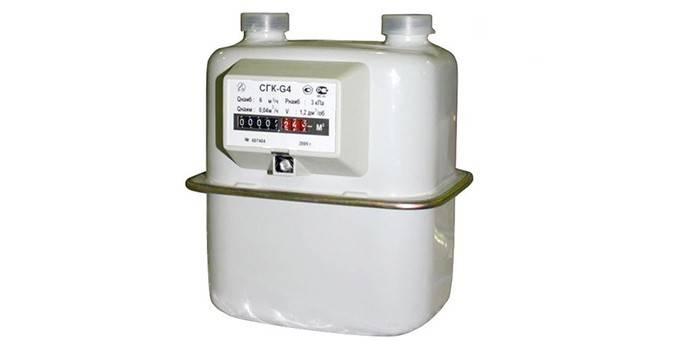 Бытовой счетчик учета газа СГК-G4