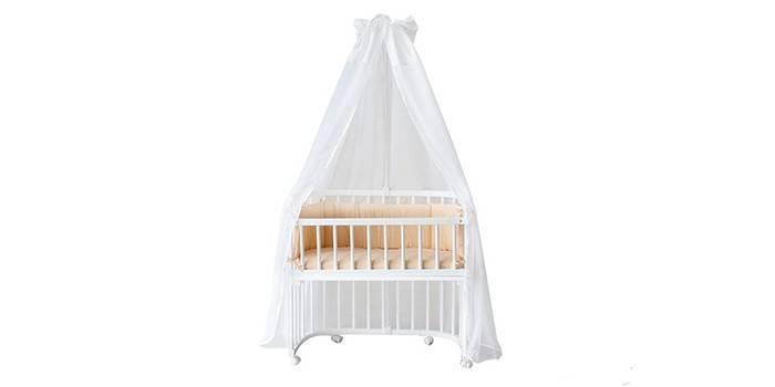Приставная детская кроватка Комфорт Беби