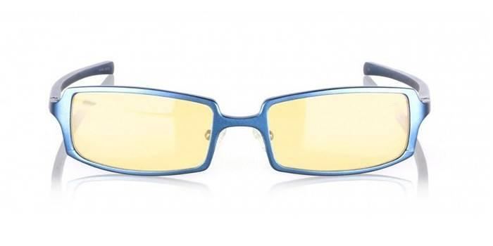 Очки с антибликовыми линзами GUNNAR Anime Steel Blue