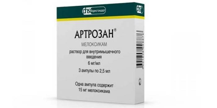 Упаковка препарата Артрозан