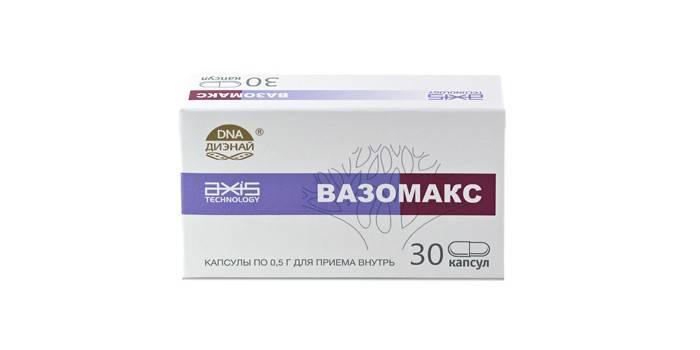 Таблетки Вазомакс