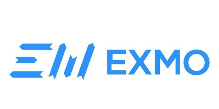 Логотип биржи биткоина EXMO