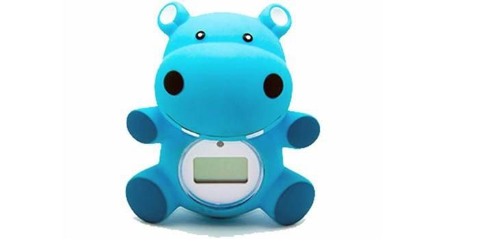 Электронный термометр для воды в виде игрушки