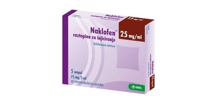 Препарат Наклофен в упаковке
