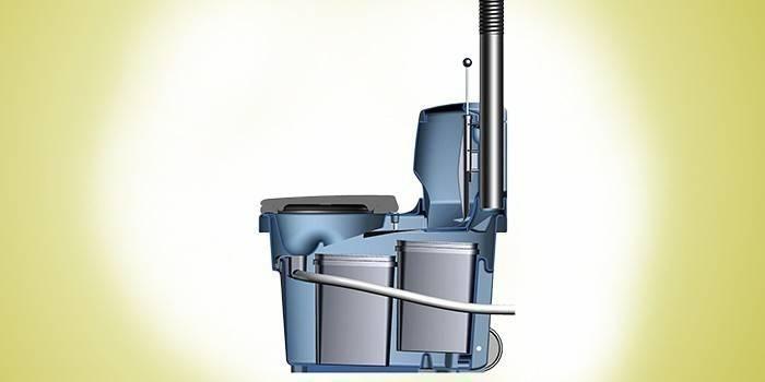 Схема устройства торфяного биотуалета