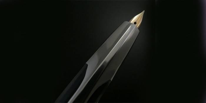 Оригинальная перьевая автоматическая ручка Pilot Capless 14K