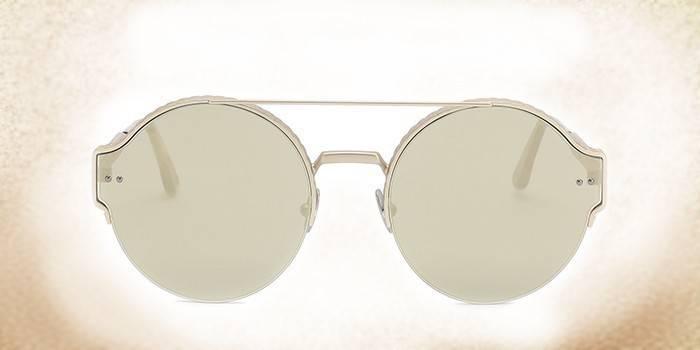 Мужские очки от солнца со стеклянными линзами Bottega Veneta