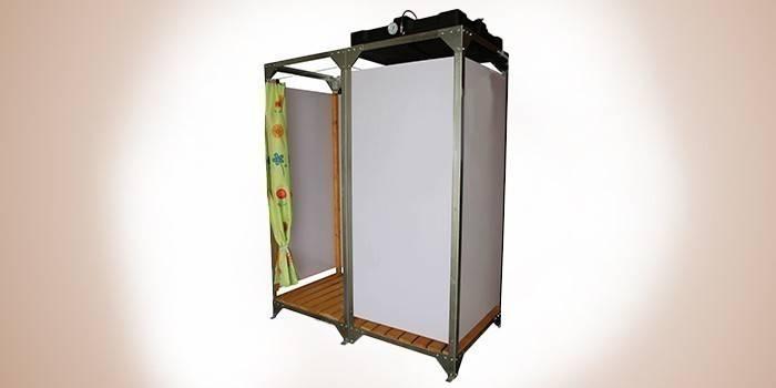 Летний душ с подогревом Эконом 095 АРП-Б150 люкс