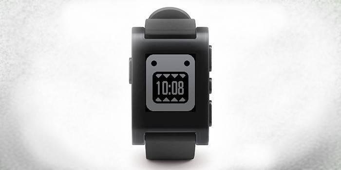 Pebble Watch (Jet Black)