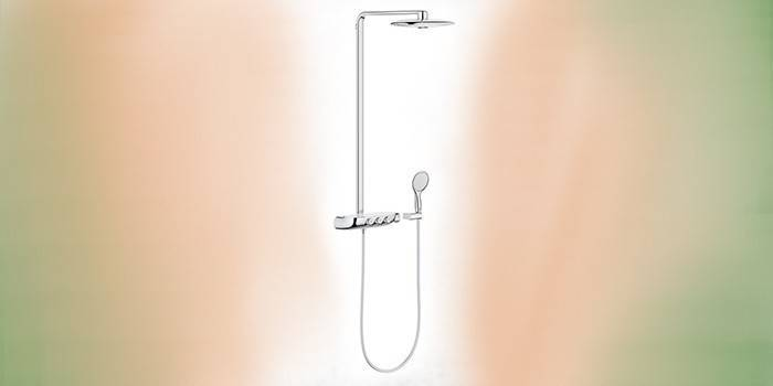 Grohe Rainshower System Smartcontrol 260 Duo