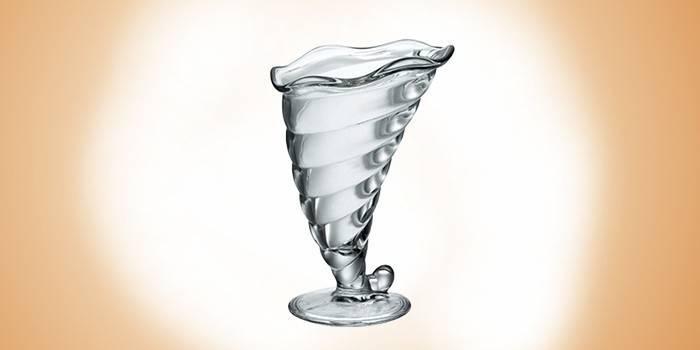 Хрустальная мороженица Фортуна от Bormioli Rocco