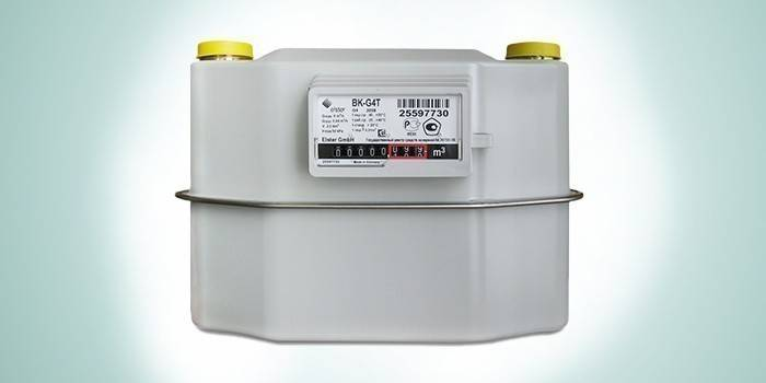 Газовый счетчик для улицы Elster ВК-G4T