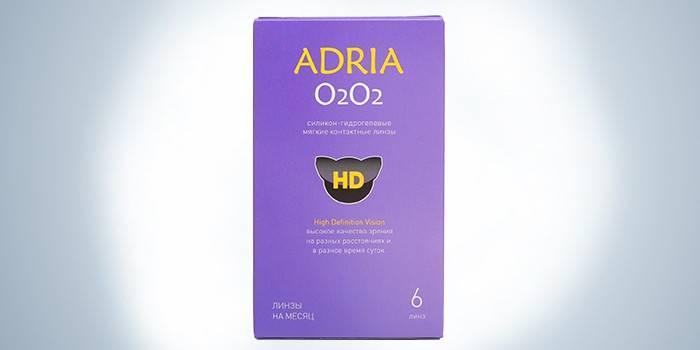 Линзы длительного ношения Adria O2O2 (6 шт.)