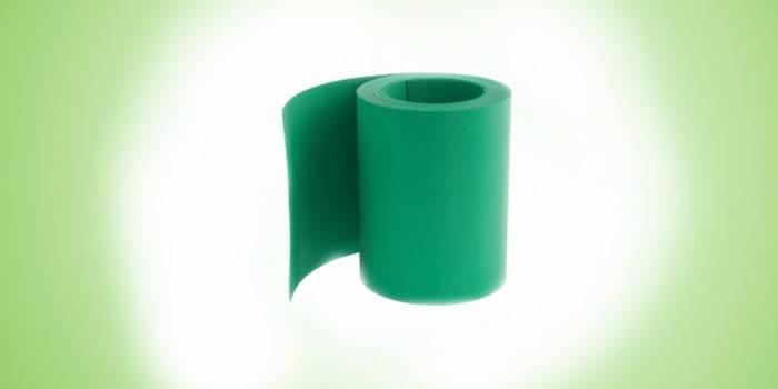 Бордюр гибкий, зеленый Palisad