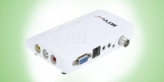 Аналоговый видеотюнер HDTV HD LCD TV Box
