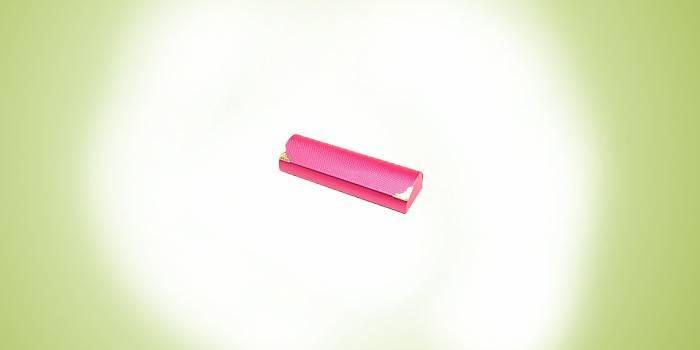 Розовый футляр