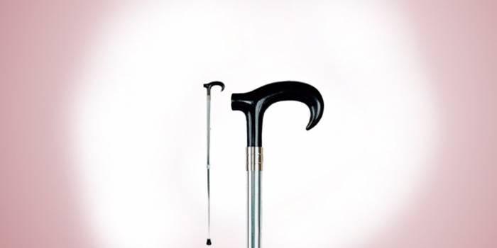 Трость с ортопедической ручкой, модель Делюкс