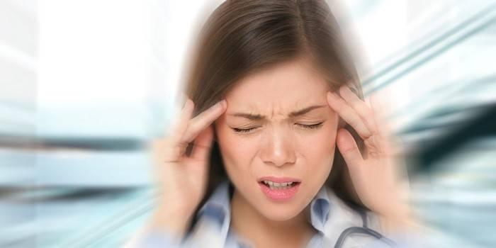 Мидокалм иногда вызывает головокружение