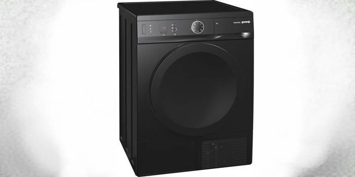 Черная сушильная машина Gorenje Simplicity D74SY2B