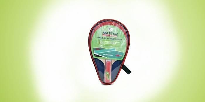 Ракетка для игры в настольный теннис Master