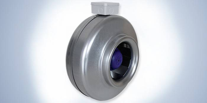 Вентилятор канальный в круглом металлическом корпусе Salda VKAP 250 MD 3.0