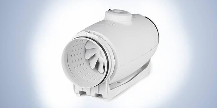 Бесшумный канальный вентилятор в пластиковом корпусе Silent Soler & Palau TD-500/150-160