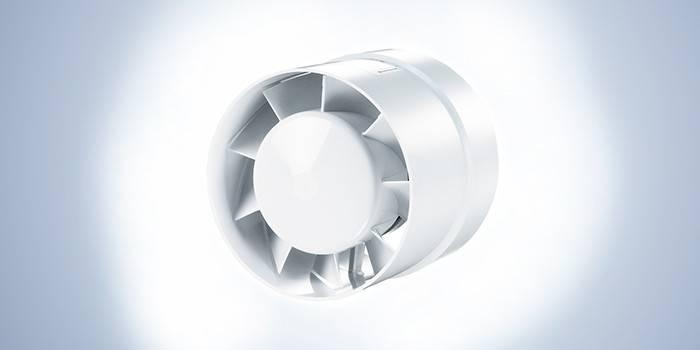 пластиковый канальный вентилятор Вентс (Vents) 100 ВКО