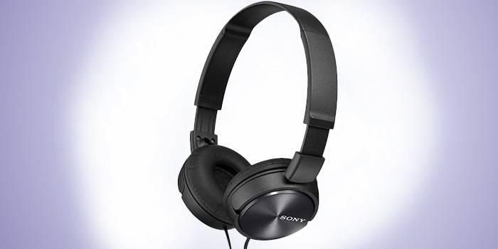 Игровые проводные наушники Sony MDR-ZX310