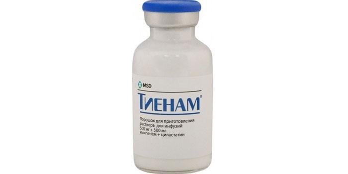 Имипенем+циластатин 0,5+0,5 пор д/р-ра д/инфуз n1 20мл – купить в.