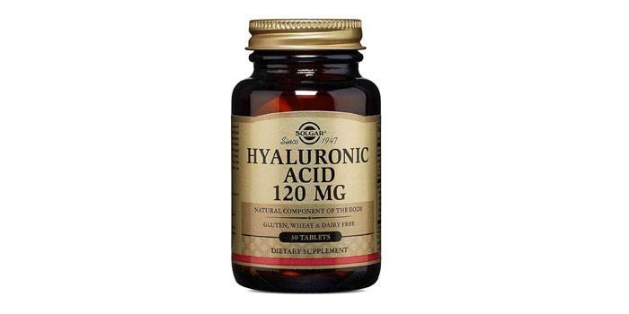 Таблетки Solgar Нyaluronic acid