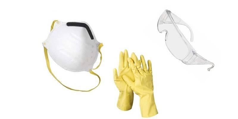 Меры предосторожности при работе с гербицидом
