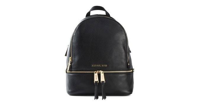 Rhea Studded Backpack Black