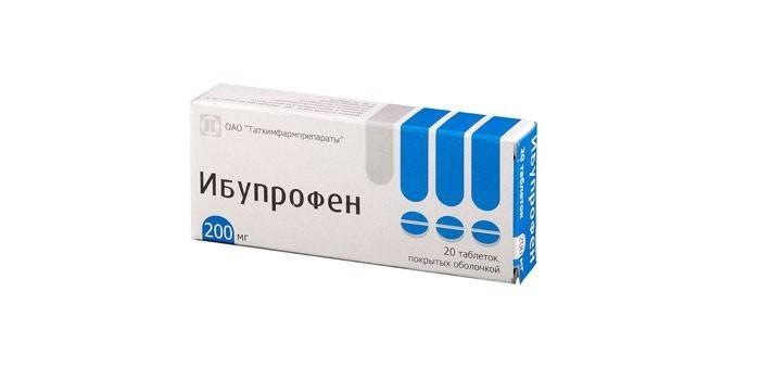 Таблетки Ибупрофен