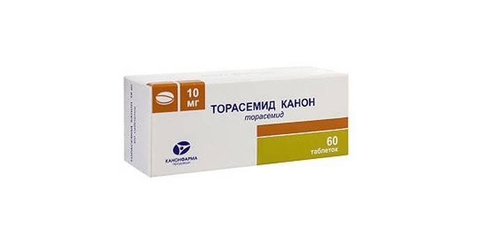 Таблетки Торасемид