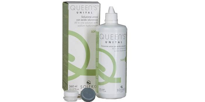 Пероксидный раствор для линз Soleko Queen's Unial